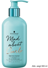 Schwarzkopf Professional Haarpflege Mad About Curls & Waves Mad About Curls High Foam Cleanser 1000 ml