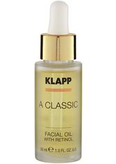 KLAPP - KLAPP A CLASSIC Facial Oil With Retinol -  30 ml - GESICHTSÖL