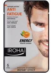 Iroha Pflege Gesichtspflege Anti-Fatigue Hydrogel Patches Men 6 Stk.