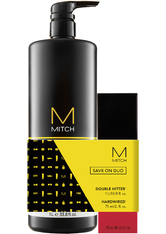 Aktion - Paul Mitchell Mitch Double Hitter Save on Duo Haarpflegeset