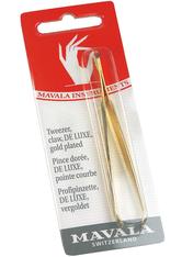 MAVALA - Mavala Haarpinzette °De Luxe ganz vergoldet - MAKEUP ACCESSOIRES