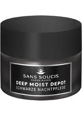 Sans Soucis Moisture Deep Moist Depot Schwarze Nachtpflege 50 ml Nachtcreme