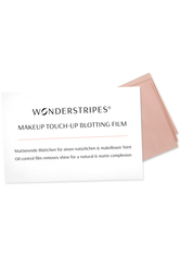 WONDERSTRIPES - Wonderstripes Wonderstripes MakeUp Touch-Up Blotting Film Pro Packung 30 Stück - Fixierung