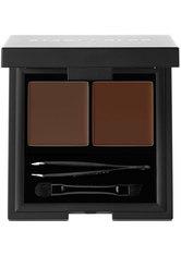 Stagecolor Cosmetics Brow Kit Powder & Wax Medium Brown Lidschatten Palette