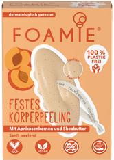 Foamie Feste Duschpflege More Than A Peeling 80 g Duschcreme