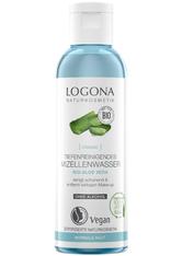 LOGOCOS - LOGONA Tiefenreinigendes Mizellenwasser Bio-Aloe Vera 125 ml - GESICHTSWASSER & GESICHTSSPRAY