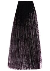 3DeLuxe Professional Hair Color Cream 4.12 mittelbraun asch irisé 100 ml Haarfarbe