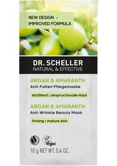 Dr. Scheller Arganöl & Amaranth Anti-Falten Pflegemaske Anti-Aging-Maske 10.0 ml