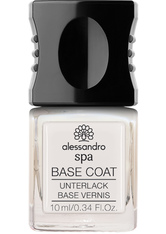 Alessandro Spa Base Coat Unterlack 10 ml Nagelunterlack
