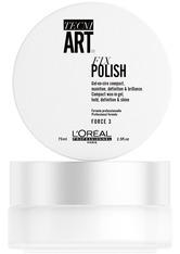 L'ORÉAL PARIS - L'Oréal Professionnel Tecni.Art Fix Polish Haargel  75 ml - Gel & Creme