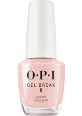 OPI - OPI Nail Care Gel Break 2 Sheer Color Properly Pink 15 ml Nagelhärter - Nagellack