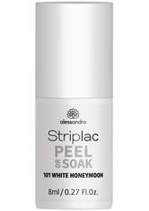 Alessandro Striplac Peel or Soak - Vegan Nagellack 8 ml Nr. 101 - White Honeymoon