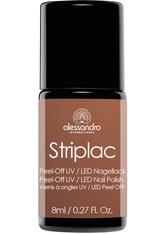 ALESSANDRO - Alessandro Make-up Striplac Colour Explosion Striplac Nail Polish Nr. 903 Mocca 8 ml - Gel & Striplack