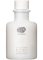 WHAMISA Produkte Organic Flowers Lotion Double Rich KG 33.5ml Gesichtslotion 33.5 ml