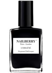 Nailberry Nägel Nagellack L'Oxygéné Oxygenated Nail Lacquer Black Berry 15 ml