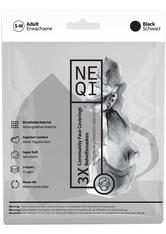 NEQI Mundschutz & Masken Geschichtsmaske Schwarz  S - M Maske 1.0 pieces
