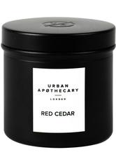 Urban Apothecary London Red Cedar Luxury Iron Travel Duftkerze  175 g