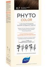 Phyto Phytocolor 6.7 Dunkelblond Schokolade Pflanzliche Coloration