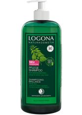 LOGONA - Logona Produkte Logona Produkte Pflege Shampoo Bio-Brennnessel Haarshampoo 750.0 ml - Shampoo