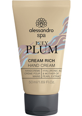 Alessandro Spa CREAM RICH ICEY PLUM Handcreme  50 ml