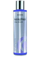 ELKADERM Haarshampoo »Keraphlex #ice_blond Shampoo«, schützende Reinigung