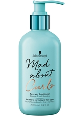 Schwarzkopf Professional Haarpflege Mad About Curls & Waves Mad About Curls Two-Way Conditioner 250 ml