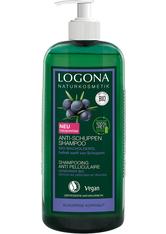 LOGONA - Logona Produkte Logona Produkte Anti-Schuppen Shampoo Bio-Wacholderbeere Haarshampoo 750.0 ml - Shampoo