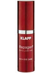 Klapp Repagen Exclusive Rich Eye Care Cream 15 ml Augencreme