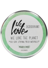 We Love The Planet Körperpflege Deodorants Mighty Mint Deodorant Creme 48 g