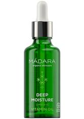 MÁDARA Organic Skincare Deep Moisture Vitamin Oil 50 ml Gesichtsöl