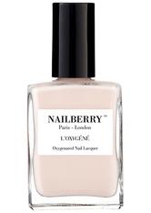 Nailberry Nägel Nagellack L'Oxygéné Oxygenated Nail Lacquer Almond 15 ml