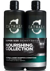 Aktion - Tigi Catwalk Oatmeal & Honey Tween Duo Shampoo + Conditioner 2x 750 ml Haarpflegeset