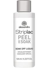 Alessandro Striplac Peel or Soak Soak Off Liquid 125 ml Nagellackentferner