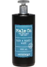 Artistique Male Co. Hair & Beard Wash 1000 ml