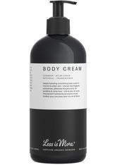 LESS IS MORE - LESS IS MORE Body Cream Lavender 500 ml - Körpercreme & Öle