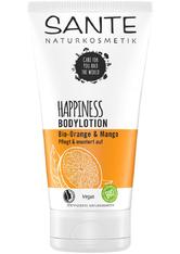 Sante HAPPINESS Bodylotion Bio-Orange & Mango Bodylotion 150.0 ml