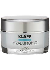 Klapp Hyaluronic Mask 50 ml Gesichtsmaske