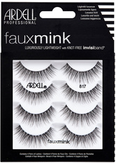 ARDELL Bandwimpern »Faux Mink 817 Multipack«, 4 Paar Bandwimpern aus seidigem Synthetik