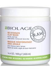 Biolage R.A.W. Nourish Re-Hydrate Clay Mask 400 ml