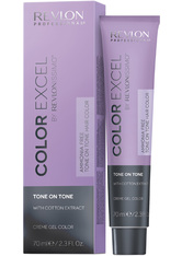 REVLON - Revlon Revlonissimo Color Excel Tone On Tone 4 70 ml - Haartönung
