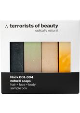 TERRORISTS OF BEAUTY - terrorists of beauty Sample Box 4x50 g - Seife