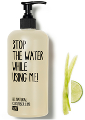 Stop the water while using me! All natural Cucumber Lime Soap 500 ml - STOP THE WATER WHILE USING ME!