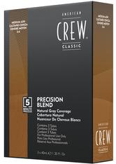 American Crew Haarpflege Precision Blend Tönungen Dunkelblond 5-6 3 x 40 ml