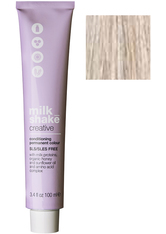 MILK_SHAKE - milk_shake 10.1 Creative Conditioning Permanent Colour ash platinum lightest blond 100 ml - HAARTÖNUNG