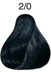 Wella Professionals Color Fresh 2/0 Schwarz Professionelle Haartönung 75 ml