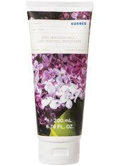 KORRES Reinigung & Pflege LILAC Glättende Körpermilch Bodylotion 200.0 ml