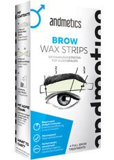 Andmetics Gesichtspflege Wachsstreifen Eye Brow Stripes Men 1 Stk.