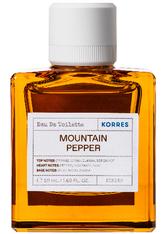 Korres Mountain Pepper Eau de Toilette (EdT) 50 ml Parfüm