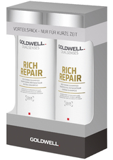 Aktion - Goldwell Dualsenses Rich Repair Restoring Shampoo 2 x 250 ml Haarpflegeset