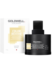 GOLDWELL - Goldwell Dualsenses Color Revive Ansatzkaschierpuder Hellblond Kaschiert Grau, passt sich perfekt der Haarfarbe an, 3,7 g - Haarpuder